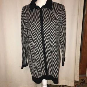 Talbots women's zipper up cardigan sweater